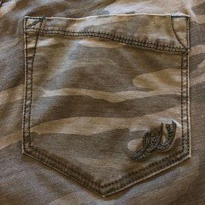 Express Camo Pants/Jeans Sz 6